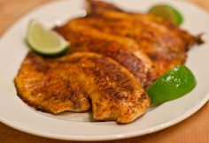 blackened-tilapia... fixed this for dinner tonight & it was very good. (added a little extra cayenne to my husband's)