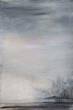 kunstreiche | Nebel Am See | Acryl auf Landwand | 60x40 cm