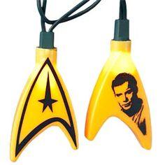 Star Trek Party String Lights - Captain James T. Kirk - Movie Theme String Light Strands & Sets