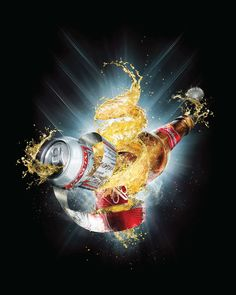 Budweiser Aluminium on Behance