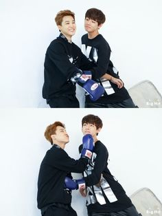 Bangtan Boys - Jimin & Taehyung (v) | 140926 | tumblr | © we are bulletproof!