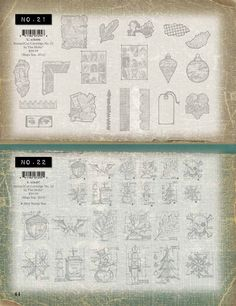 Sizzix - stamp2cut cartridge No. 21 and 22 Tim Holtz, Ranger, Stamping, Stamps, Stamp Sets, Scrapbook Stamping