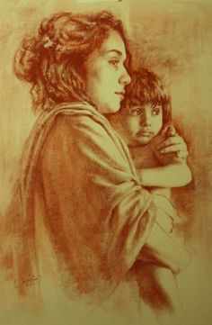 Kai Fine Art is an art website, shows painting and illustration works all over the world. Epic Art, Amazing Art, Cesar Santos, Portrait Au Crayon, She's A Lady, Pastel Portraits, Art Inspiration Drawing, Madonna And Child, Elements Of Art