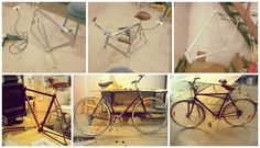 Renovation of an old Crescent bicycle