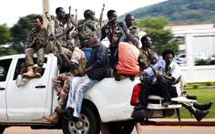 This is the Seleka. They are responsible for the death of many natives of the Central African Republic.