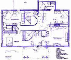 Upstairs level of Graceland …