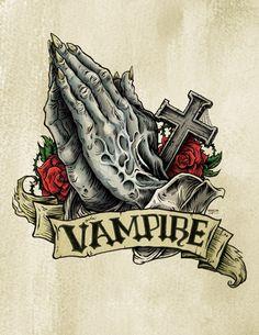 Vampire Praying Hands