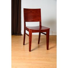 This stylish dining chair set features durable construction and a distinctive modern design. Beautifully crafted from beechwood, this handsomely elegant chair set provides a welcome addition to any dining room decor or design scheme.