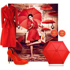 """Red Hot"" by dahliafahrian on Polyvore"