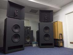 TESLA AKR303 Vintage Klangfilm Speaker Cabinet Pair (Worldwide Shipping)   eBay