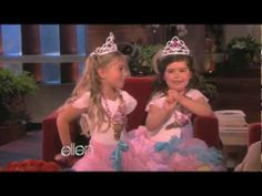 These girls make my day! Sophia Grace and Rosie - A Sack of Potatoes