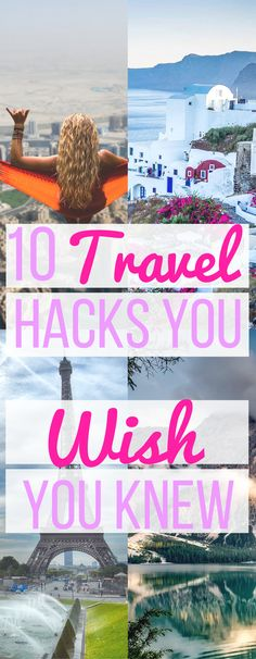 Yay, you're going on vacation and it's time to pack. Here are my top 10 travel hacks to prepare for your next vacation.  Bring your food on the plane Many people may not know this, but you can bring your own food onto the plane. Just make sure it's wrapped or in a clear…