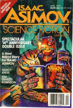 Isaac Asimov Science Fiction Magazine - April 1991