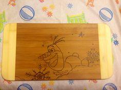 Disney Frozen Cutting Board  on Etsy, $25.00 CAD