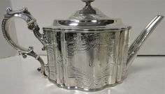 .. Antique Sterling Silver Tea