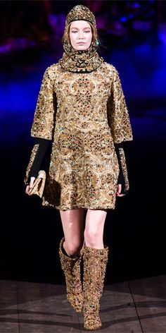 Runway Looks We Love: Dolce & Gabbana - Dolce & Gabbana from #InStyle