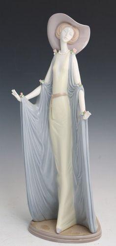 "Lladro Porcelain Figure ""Afternoon Tea"""