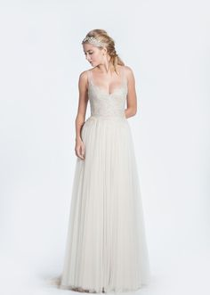 Paolo Sebastian 'Mia' Tulle Wedding Dress