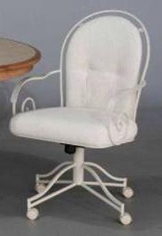 Chromcraft C60 899 Swivel Tilt Caster Chair available at  www dinetteonline comCR Joseph Swivel Tilt Adjustable Height Caster Dining Chair  . Powell Hamilton Swivel Tilt Dining Chair On Casters. Home Design Ideas