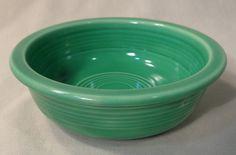 Fiesta Ware Homer Laughlin Green Fruit Bowl Fiestaware Vintage Estate-Older #HomerLaughlinFiesta