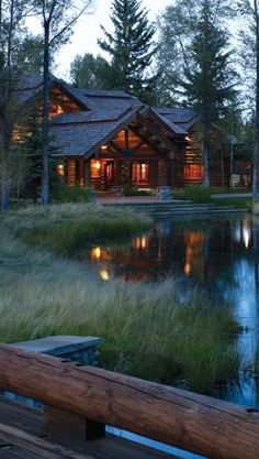 Bar B Bar Ranch in Jackson Hole, Wyoming • design / photo: Beck Architecture