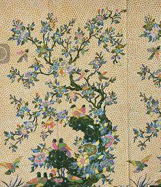 Batik tulis Cirebon Textile Prints, Textile Patterns, Textiles, Art Prints, Fabric Design, Pattern Design, Indonesian Art, Batik Art, Batik Pattern