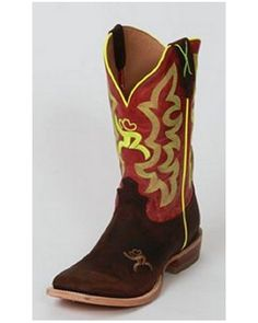 Hooey® Youth Crazy Horse Red Boots