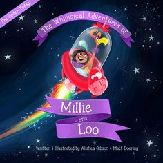The Whimsical Adventures of Millie & Loo by Alishea Gibson & Matt Doering are now available for pre-order! bearboatstudios.com