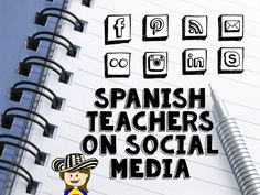 Fun for Spanish Teachers: Spanish Teachers to Follow on Social Media
