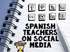 Fun for Spanish Teachers: Spanish Teachers to Follow on Social Media