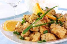Easy Orange Chicken Recipe   via @SparkPeople #food #dinner #fast #healthy