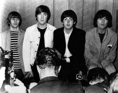 17th August 1965. The Beatles Toronto press conference.