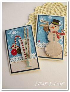 『クリスマスカードいろいろ。これからの季節に!』 http://ameblo.jp/leafleaf-cards/entry-11708909763.html