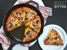 no-knead pan pizza.