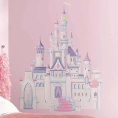 You'll love the Disney Princess Castle Wall Decal at Wayfair - Great Deals on all Décor  products with Free Shipping on most stuff, even the big stuff.