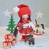 Кукла текстильная интерьерная гнома розовая - купить или заказать в интернет-магазине на Ярмарке Мастеров | Куколка гномочка в розовом цвете подарит своей…