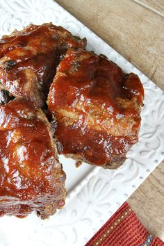Slow Cooker Apple Butter BBQ Ribs Recipe - RecipeGirl.com