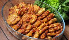 Kotlety szarpane Ketchup, Shrimp, Chicken, Meat, Food, Kuchen, Essen, Meals, Yemek