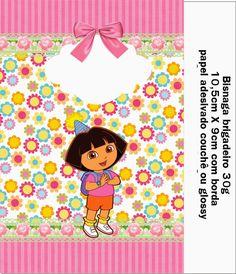OLÁ AMIGAS!   Hoje postaremos um lindo kit da Dora aventureira enviado pela nossa amiga Danitieli Cotrin Parra.       Latinha/Topper        ...
