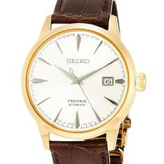 Jdm, Chronograph, Seiko Presage, Young Fashion, Seiko Watches, Watch Brands, Stainless Steel Case, Gold Watch, Watches For Men