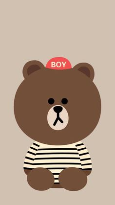 cony and brown White Things oneplus 6 white color price Lines Wallpaper, Brown Wallpaper, Bear Wallpaper, Kawaii Wallpaper, Wallpaper Backgrounds, Iphone Wallpaper, Charcoal Wallpaper, Line Brown Bear, Brown Line