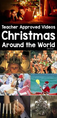 It's really tricky to find good videos sometimes and so here is your teacher approved list of Christmas Around the World Videos for Kids. These videos are all about customs and traditions in different