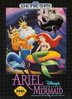 Disney's Ariel The Little Mermaid #Sega Genesis Game