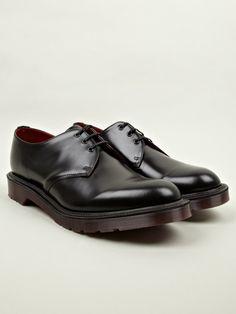 Dr Martens Men's Black MIE 1461 3-Eye Shoes | oki-ni