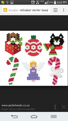 Misc christmas perler beads