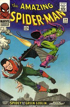 Amazing Spider-Man # 39 by John Romita