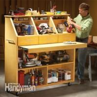 Top 10 Home Organization Projects | The Family Handymantool storage idea