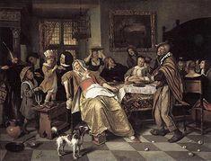 Jan Steen - Het Driekoningenfeest - Jan Steen - Wikimedia Commons