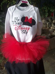 My first Disney Trip by Madiesmadedesigns on Etsy, $37.00... need @Bridget Begnaud Harthcock to make the kids this shirt when we go! :-)