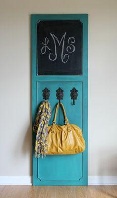 Command Central - Chalkboard & Door Hanger